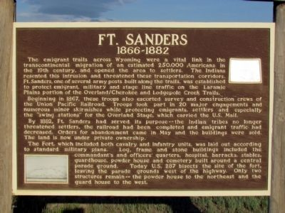 Ft. Sanders Marker image. Click for full size.