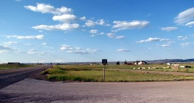 View to north along US 287 image. Click for full size.
