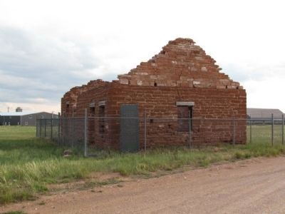 Remains of Fort Sanders Guardhouse image. Click for full size.