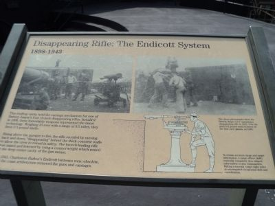 Disappearing Rifle: The Endicott System Marker image. Click for full size.