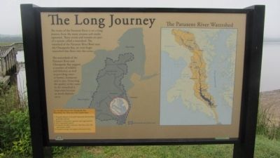 The Long Journey Marker image. Click for full size.