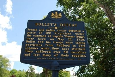 Bullet's Defeat Marker image. Click for full size.