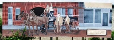 Old City Hall & Fire Station Mural image. Click for full size.