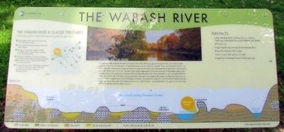 The Wabash River Marker image. Click for full size.
