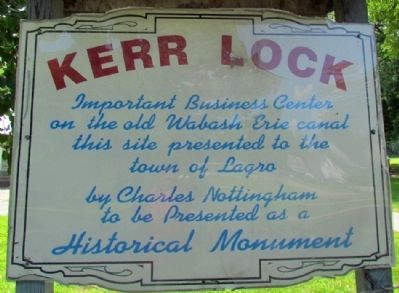 Kerr Lock Marker image. Click for full size.