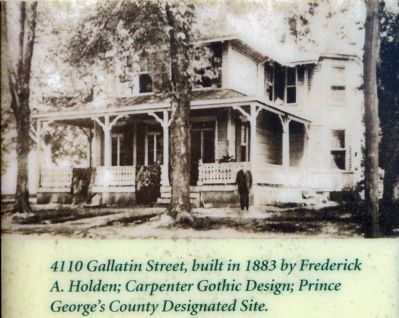 Frederic Augustus Holden House image. Click for full size.