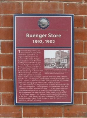 Buenger Store Marker image. Click for full size.