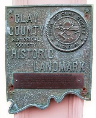 Clay County Historical Museum Marker image. Click for full size.