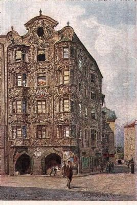 Hölbinghaus historical postcard (date unknown) image. Click for full size.