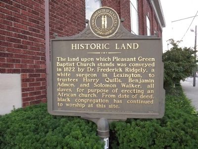 Historic Land Marker image. Click for full size.