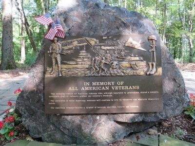Lebanon Township Veterans Monument image. Click for full size.