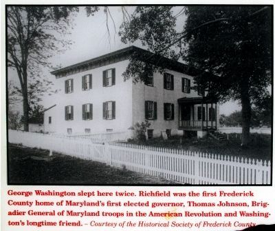 George Washington Slept Here<br>Twice image. Click for full size.