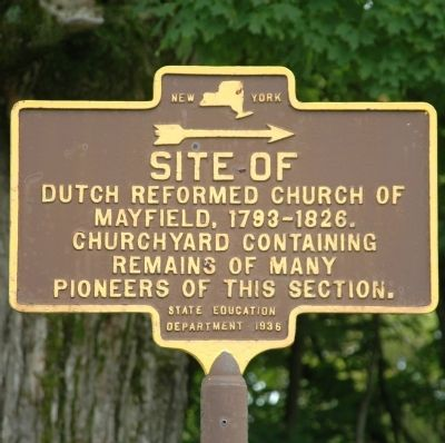 Dutch Reformed Church of Mayfield Marker image. Click for full size.