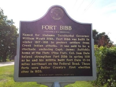 Fort Bibb Marker image, Touch for more information