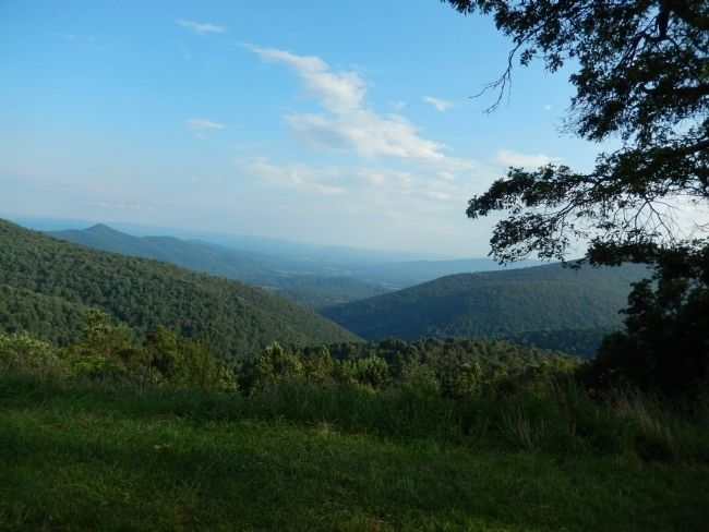 Shenandoah National Park from Skyline Drive image. Click for full size.