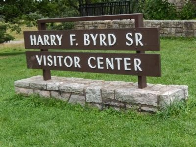 Harry F. Byrd, Sr. Visitor Center image. Click for full size.
