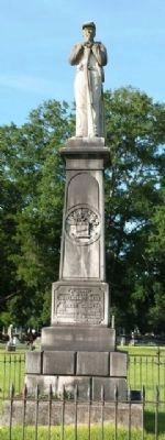 Confederate Dead of Wilcox County Monument image. Click for full size.