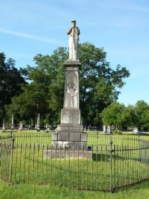 Confederate War Dead Monument image. Click for full size.