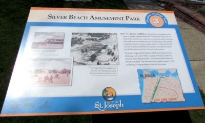 Silver Beach Amusement Park Marker image. Click for full size.