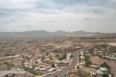 El Paso from Scenic Drive Overlook image. Click for full size.