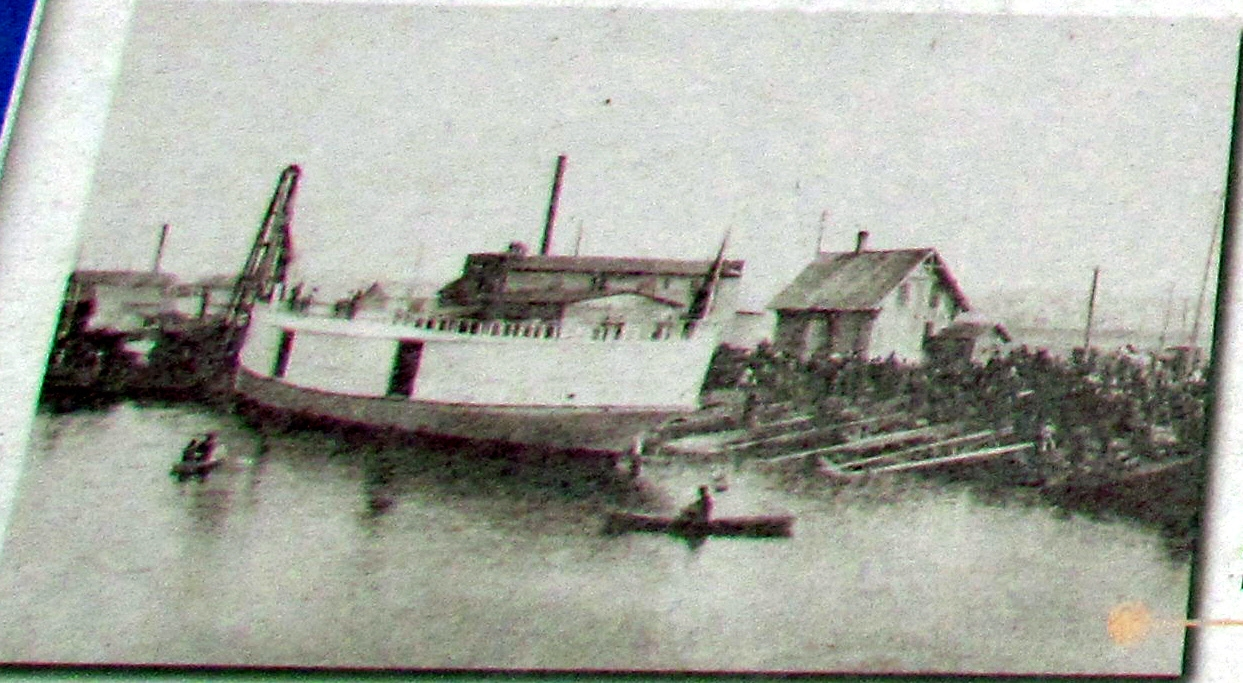 The Steam Freighter <i>Puritan</i>, 1887
