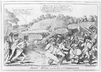 John Bull and the Baltimoreans image. Click for full size.