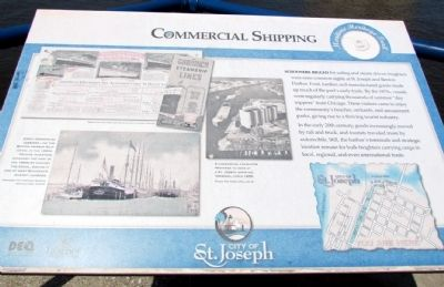 Commercial Shipping Marker image. Click for full size.