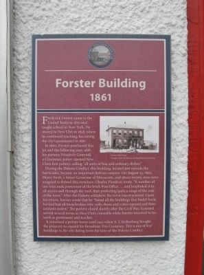 Forster Building Marker image. Click for full size.