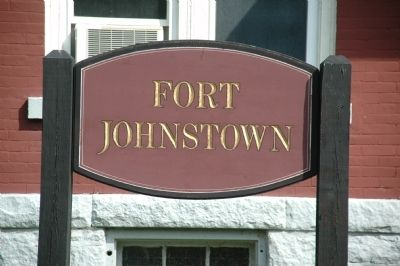 Fort Johnstown image. Click for full size.