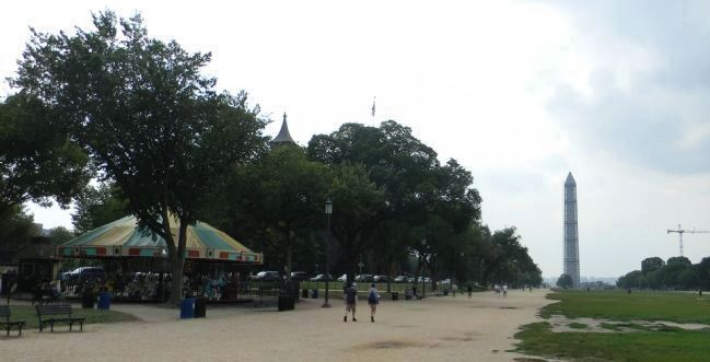 Carousel on the Mall, Washington, D.C. image. Click for full size.