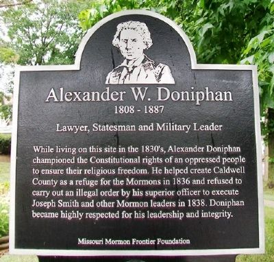 Alexander W. Doniphan Marker image. Click for full size.