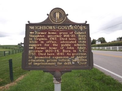 Neighbors-Governors Marker image. Click for full size.