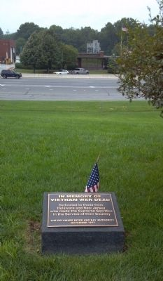 Delaware River and Bay Authority Vietnam Memorial Marker image. Click for full size.