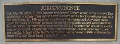Jurisprudence Marker image. Click for full size.