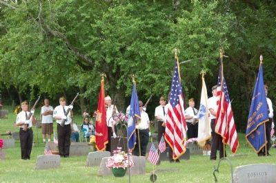 Savanna Community Veterans Memorial Day Service image. Click for full size.
