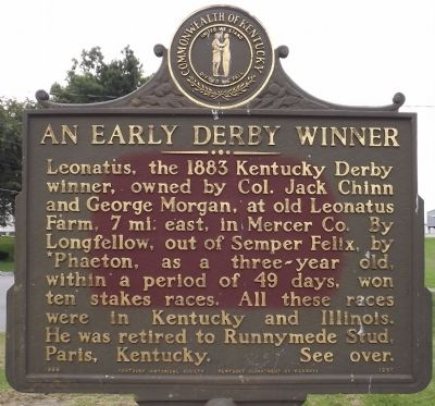 An Early Derby Winner Marker image. Click for full size.