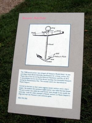 Bower Anchor Marker image. Click for full size.