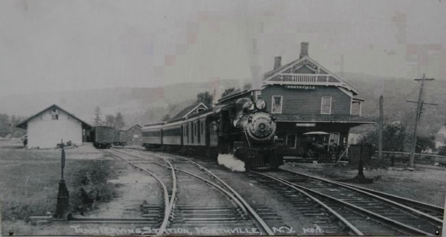 The Northville Depot image. Click for full size.
