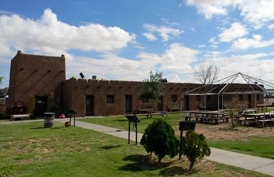 Fort Bliss Replica Museum (1948) image. Click for full size.