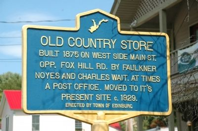 Old Country Store Marker image. Click for full size.
