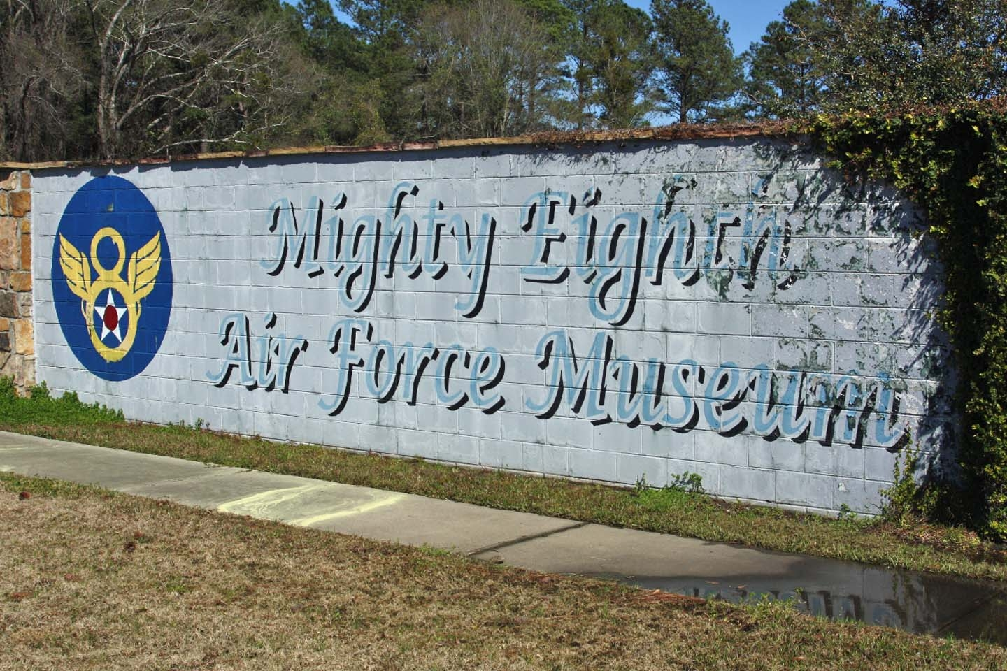 Blitzing Betsy Marker at the Mighty Eighth Air Force Museum