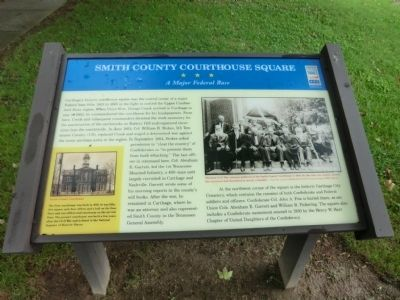 Smith County Courthouse Square Marker image. Click for full size.