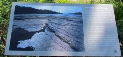 Maumee River Rapids Marker image. Click for full size.