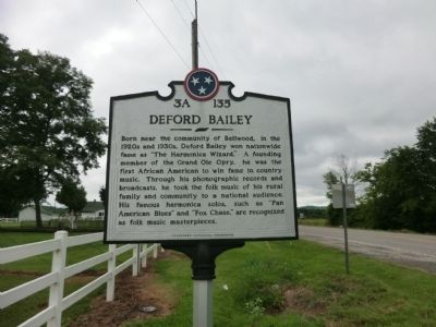 Deford Baily Marker image. Click for full size.
