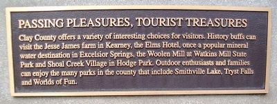 Passing Pleasures, Tourist Treasures Marker image. Click for full size.