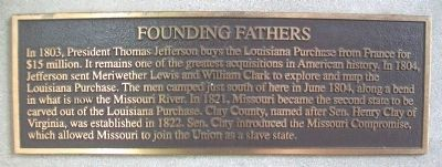 Founding Fathers Marker image. Click for full size.