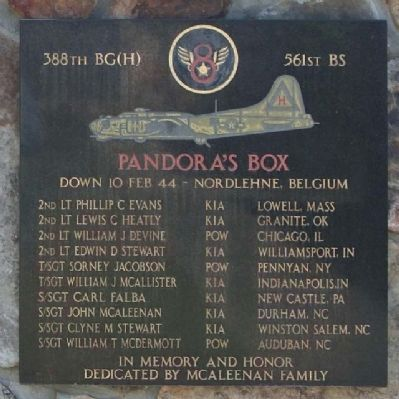 Pandora's Box Marker image. Click for full size.