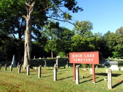 Birch Lake Cemetery image. Click for full size.