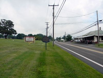 Wide view of the Tulpehocken Path Marker image. Click for full size.