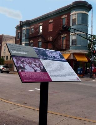 The Temperance Movement Battled Madison's Breweries Marker image. Click for full size.